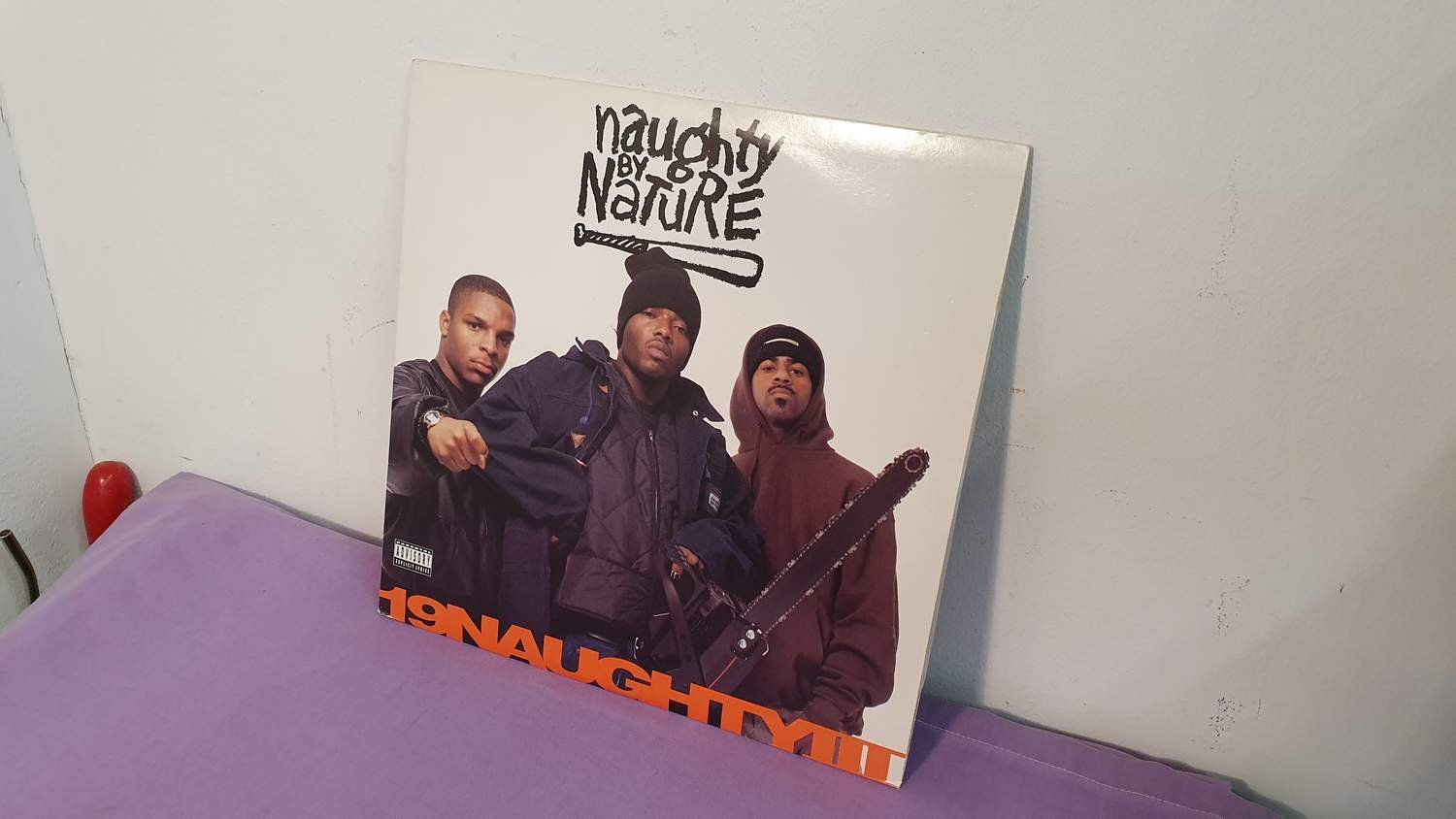 Naughty By Nature - 19 Naughty Ill - Hiphop - USA - 1993 - VG