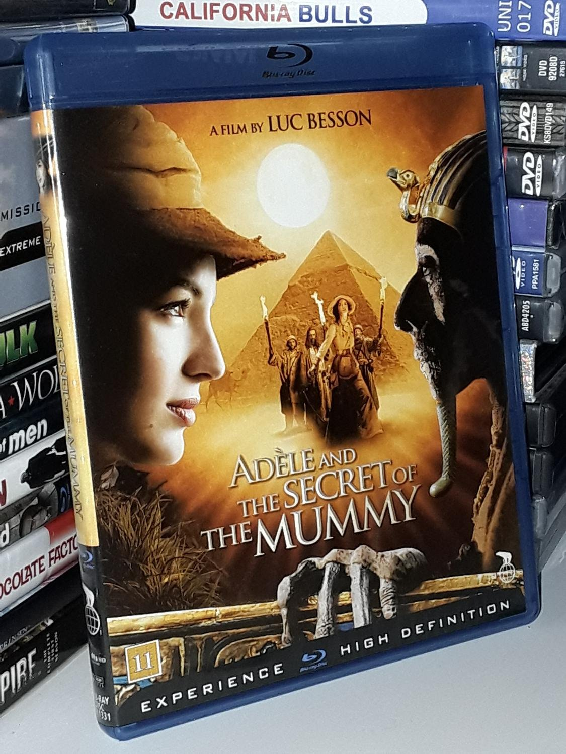 Adèle and the secret of the Mummy (Blu-ray)