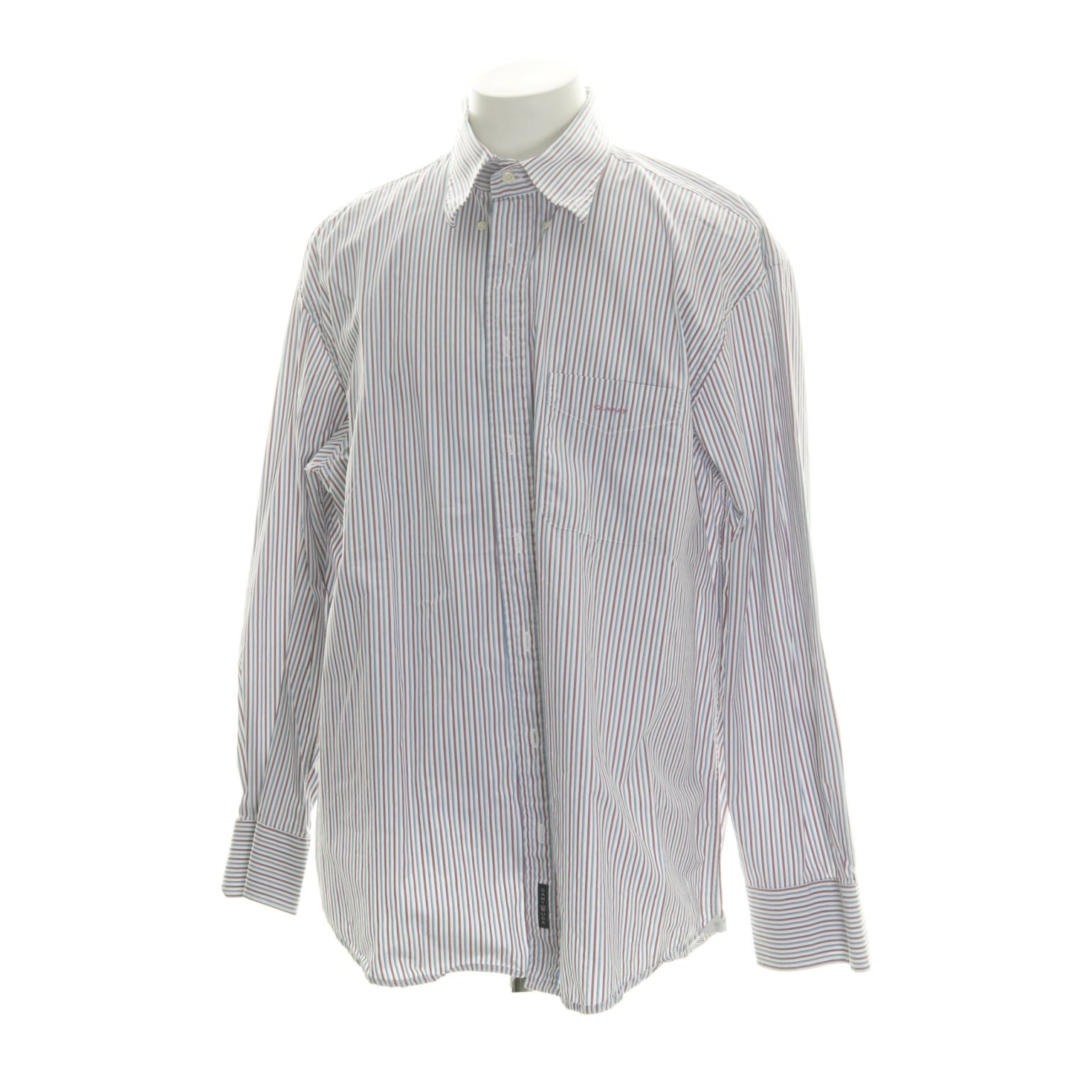 GANT, Buttondown-skjorta, Strl: XXL, Vit/Blå/Rosa