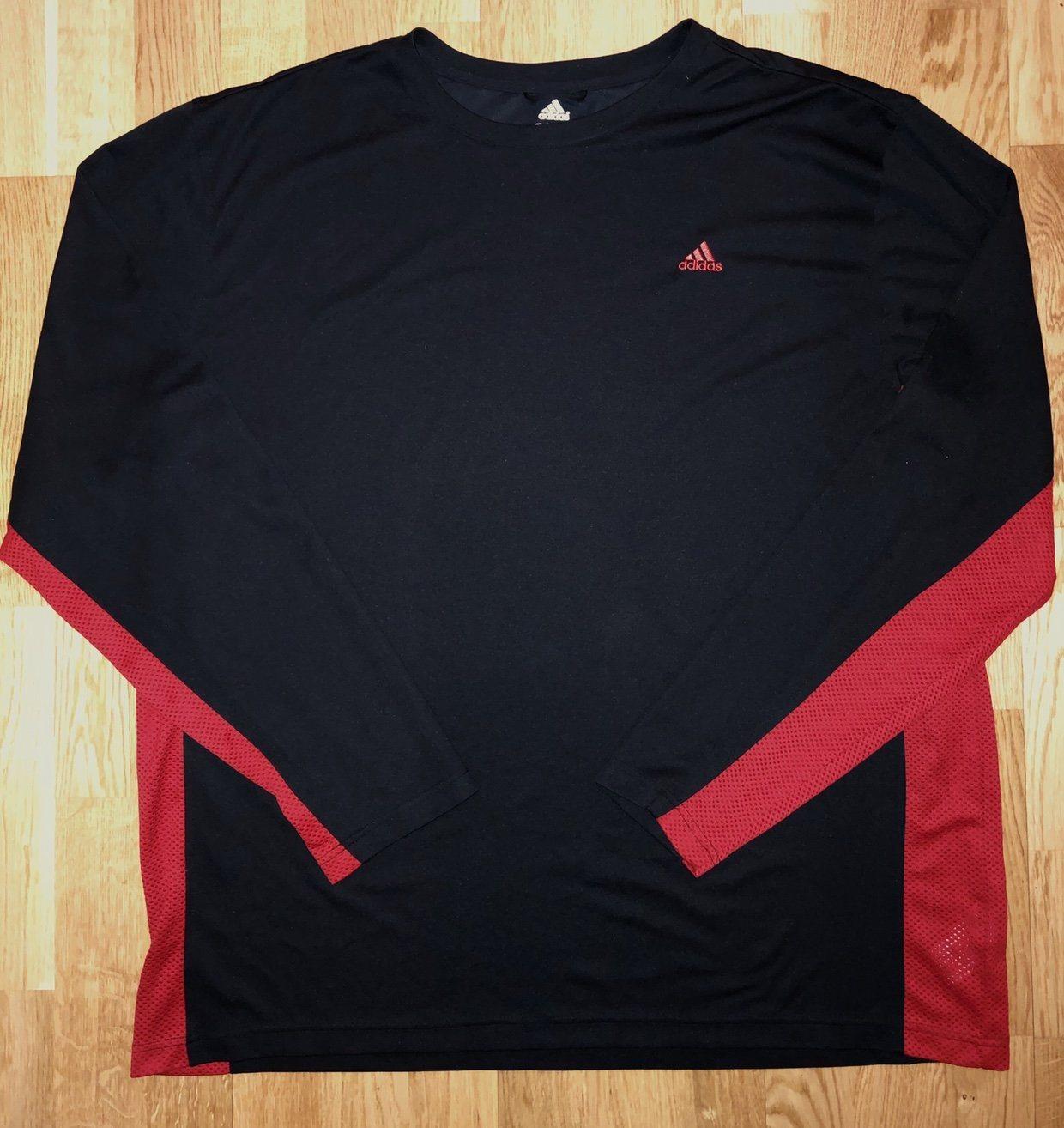 watch 99caf 70b82 Climacool tröja svart/röd adidas xxl (3XL) (344553322) ᐈ ...
