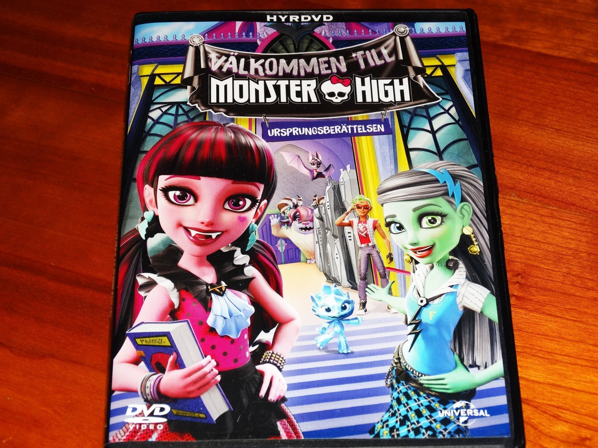 välkommen till monster high