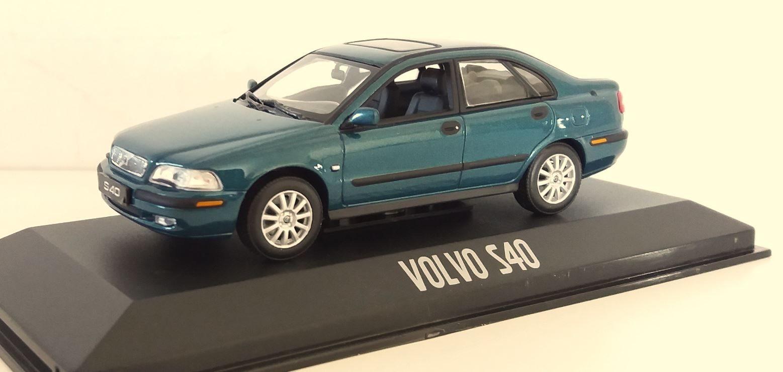 Minichamps, Volvo S40 blågrön metallic (344642492) ᐈ Köp på