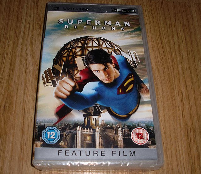 PSP-Film: Superman Returns (ny) ★