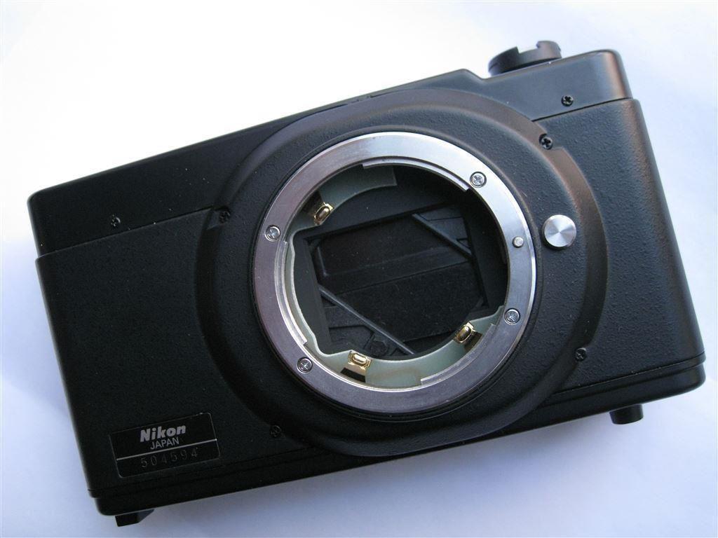 Nikon fx 35dx kamera kamerahus för mikroskop med nikon f