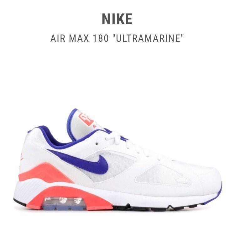 d3e5e3d999b Nike, Air Max 180 (US 9,5) (340238699) ᐈ Köp på Tradera