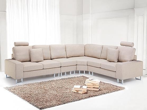 Hörnsoffa beige - soffa - tygsoffa - STOCKHOLM på Tradera.com - Soffor