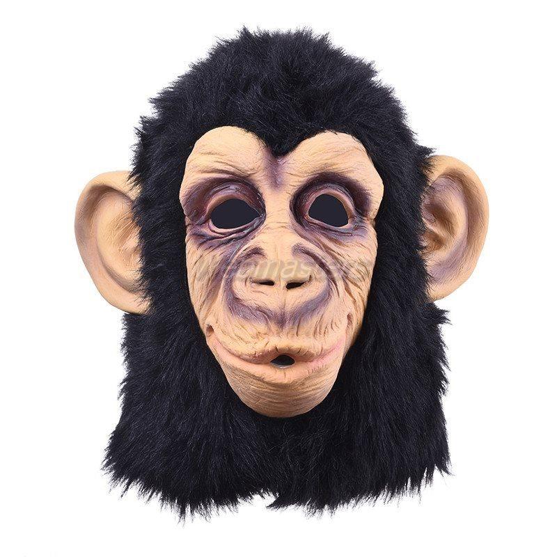 Apa Monkey mask djur för maskerad utk.. (291925433) ᐈ Webmasters på ... 4c4ec0f245aef