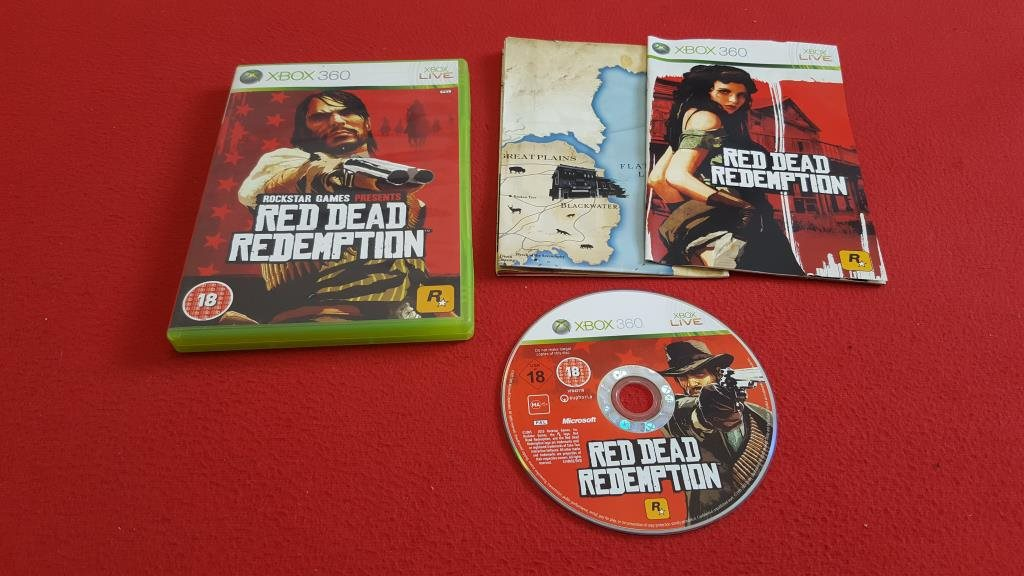 red dead redemption begagnat