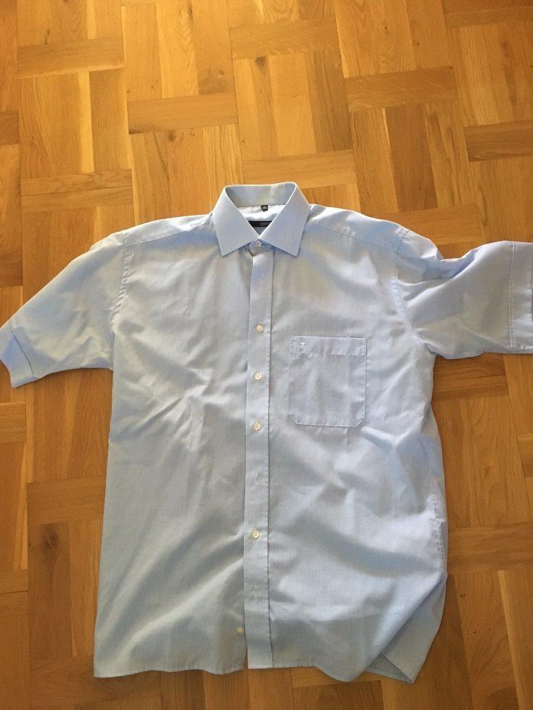 Kortärmad fin skjorta / sommarskjorta stl 39 (15 1/2)