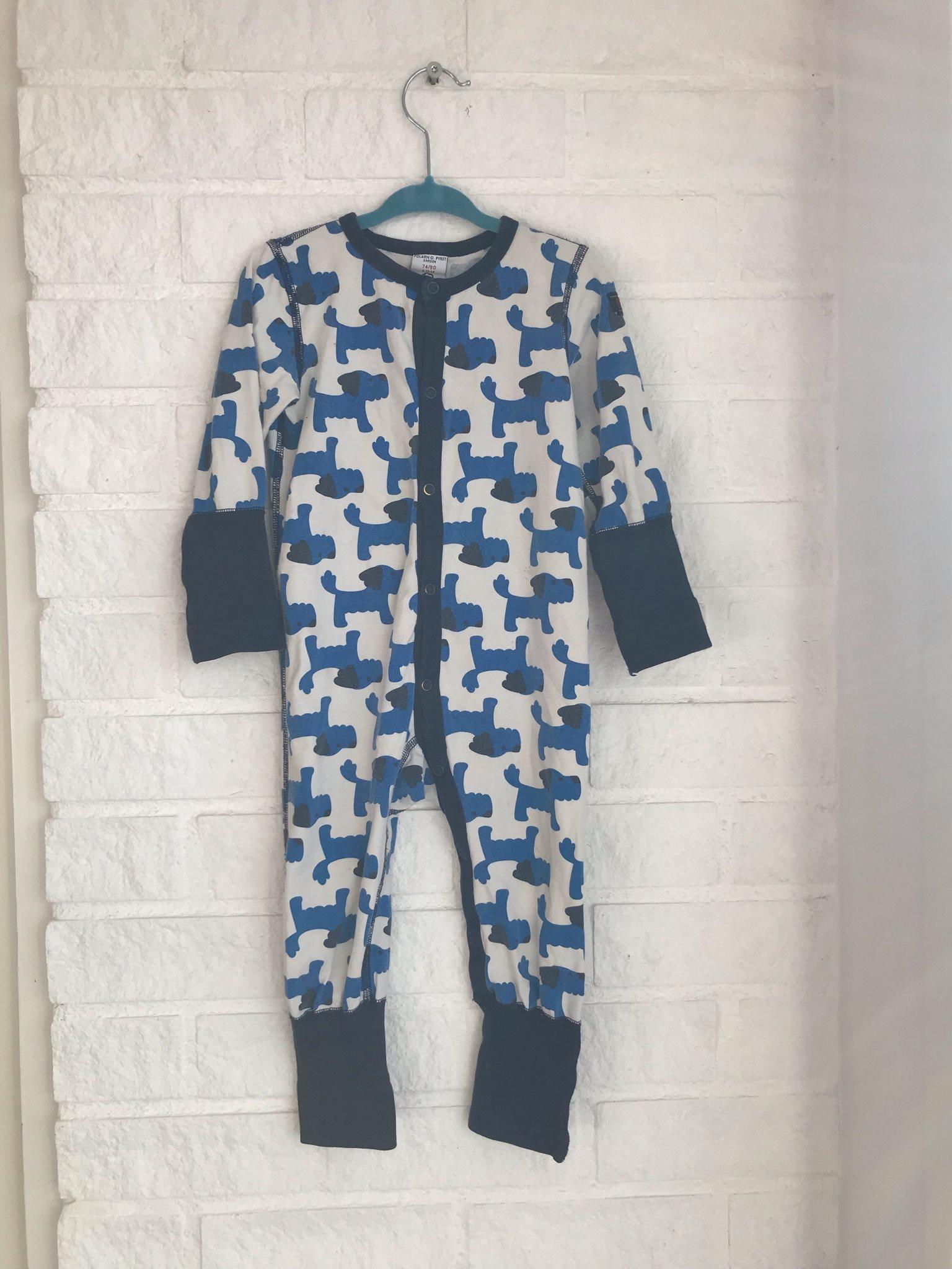 Pop polarn och pyret pyjamas hundar strl 74 80 .. (336864617) ᐈ Köp ... 216c9171e983d