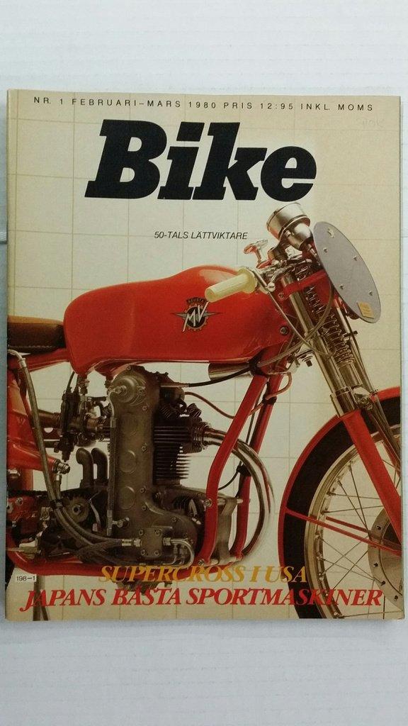 Bike nr 1 1980: Suzuki GS 1000 S, Honda CB 900    (346965063) ᐈ Köp
