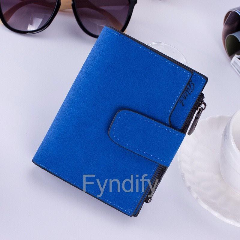 Damplånbok Läder (PU)  Blå