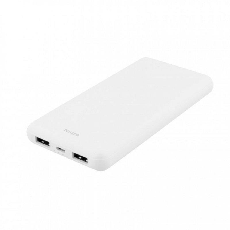 Linocell Mini USB billaddare 2,4 A Svart