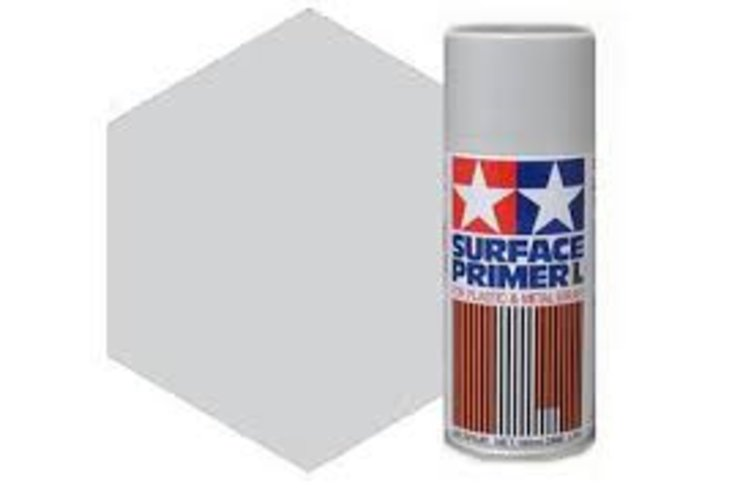 Tamiya Surface Primer Large, 180ml,  Gray