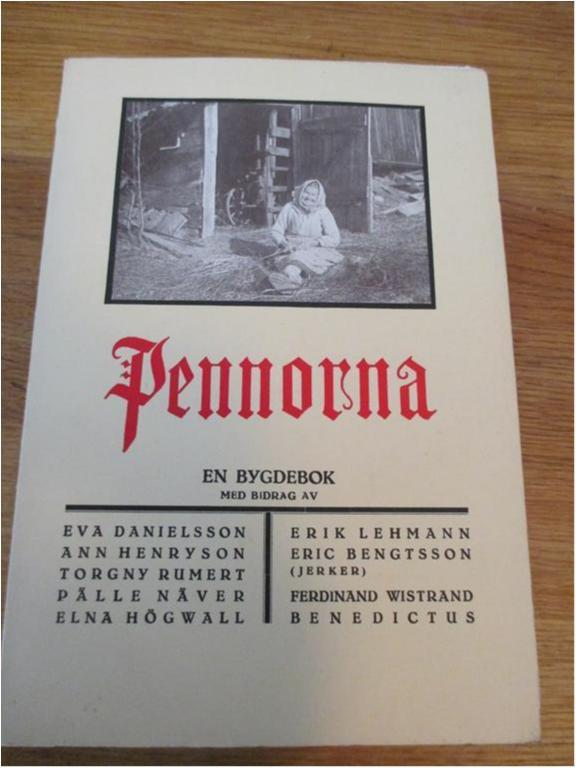 Småland, tjust, Pennorna 1968, Hembygdsbok, Pälle Näver m m m fl 43b30c