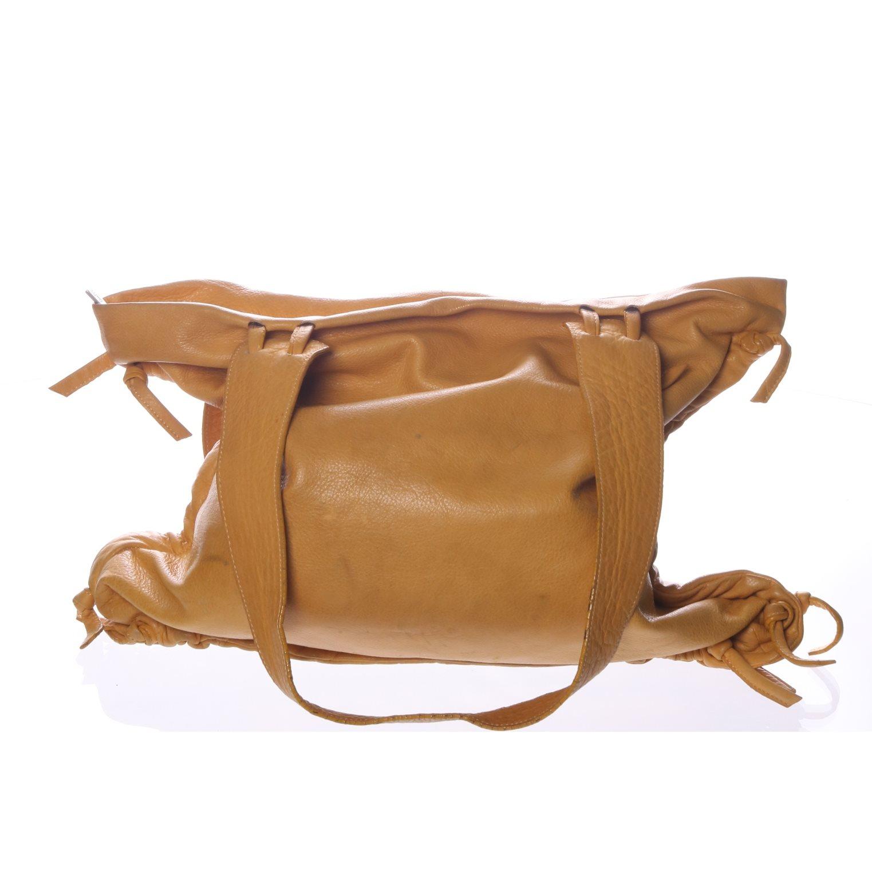 Handväska Gul : Lupo handv?ska gul skinn p? tradera handv?skor i