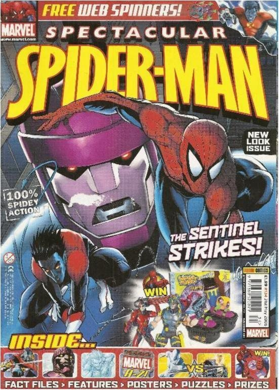 MARVEL SPECTACULAR SPIDER-MAN - NR 134 (ENGLISH)