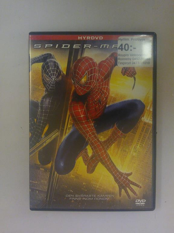 DVD - SpiderMan 3