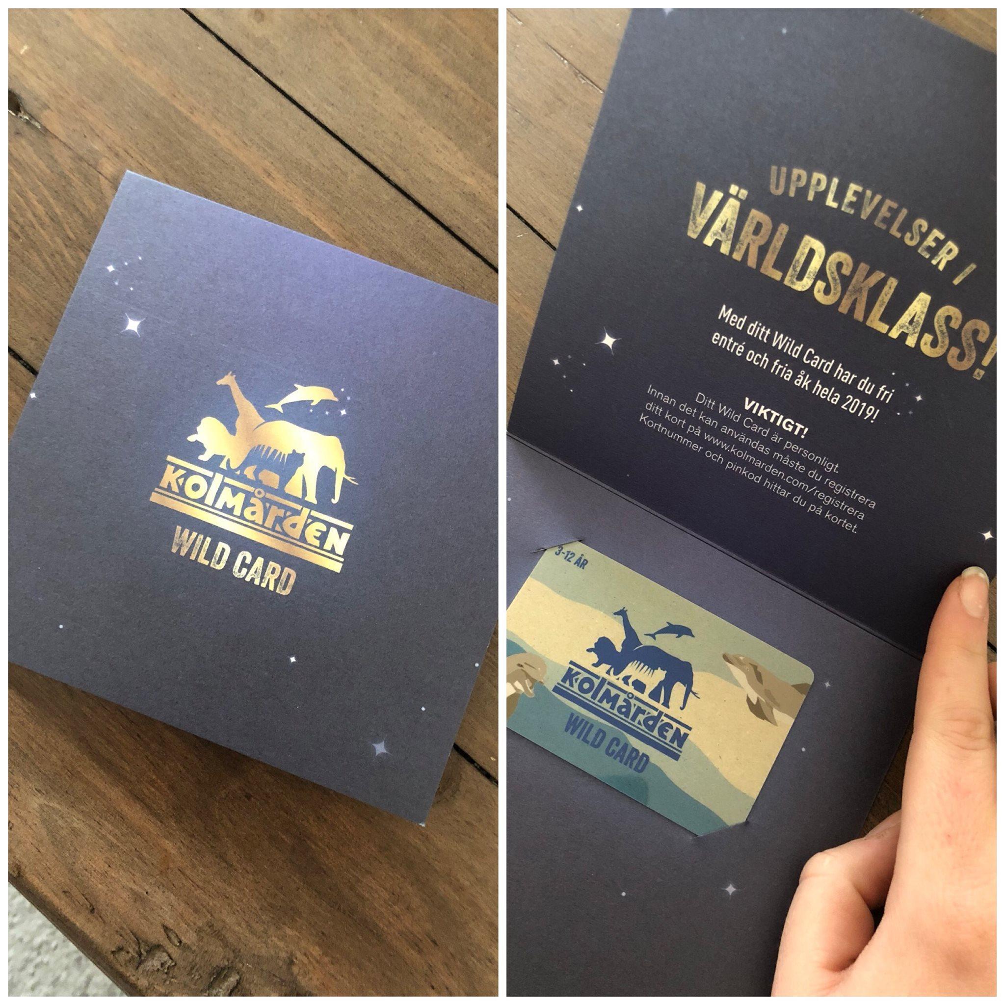 registrera wildcard kolmården