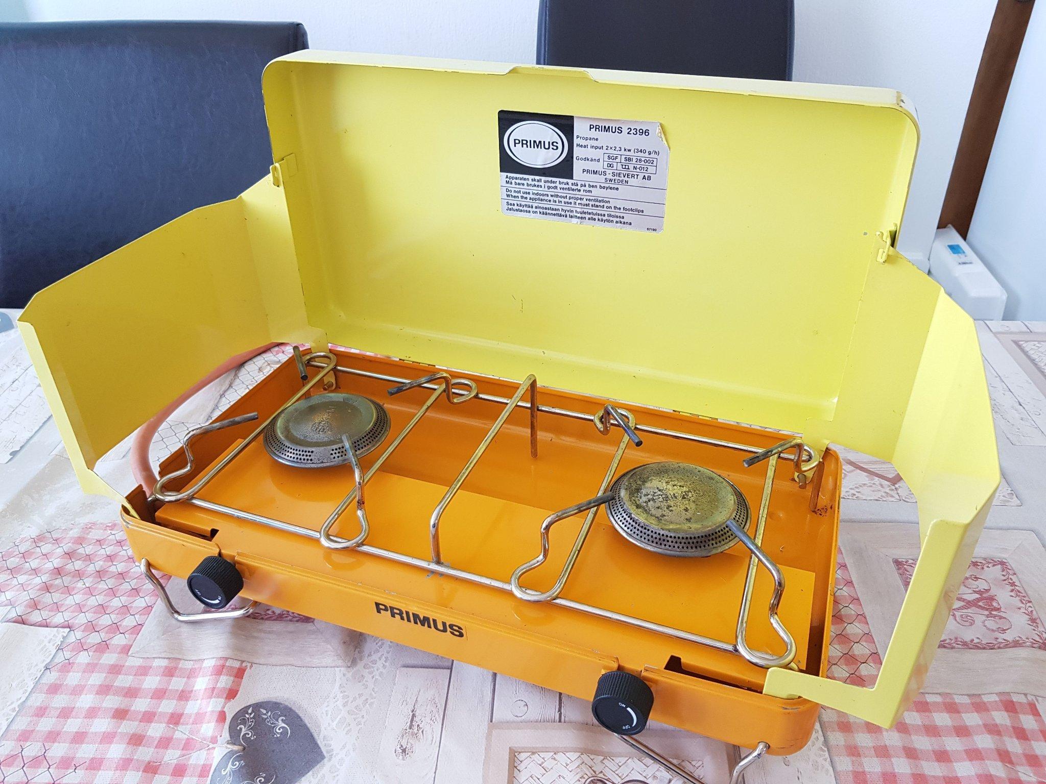 Primus 2396 gasolkök campingkök (354862282) ᐈ Köp på Tradera