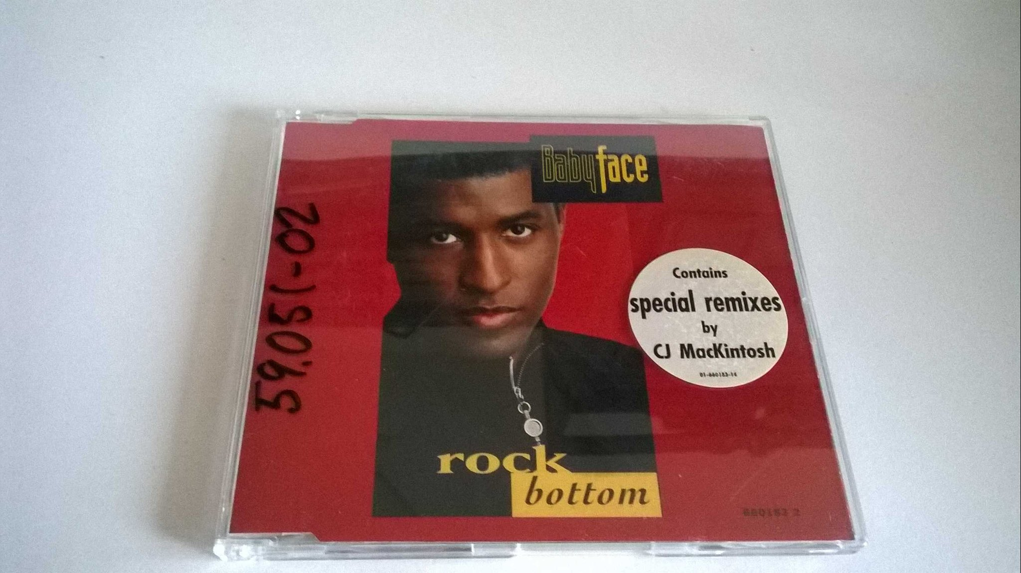 Babyface - Rock Bottom, CD