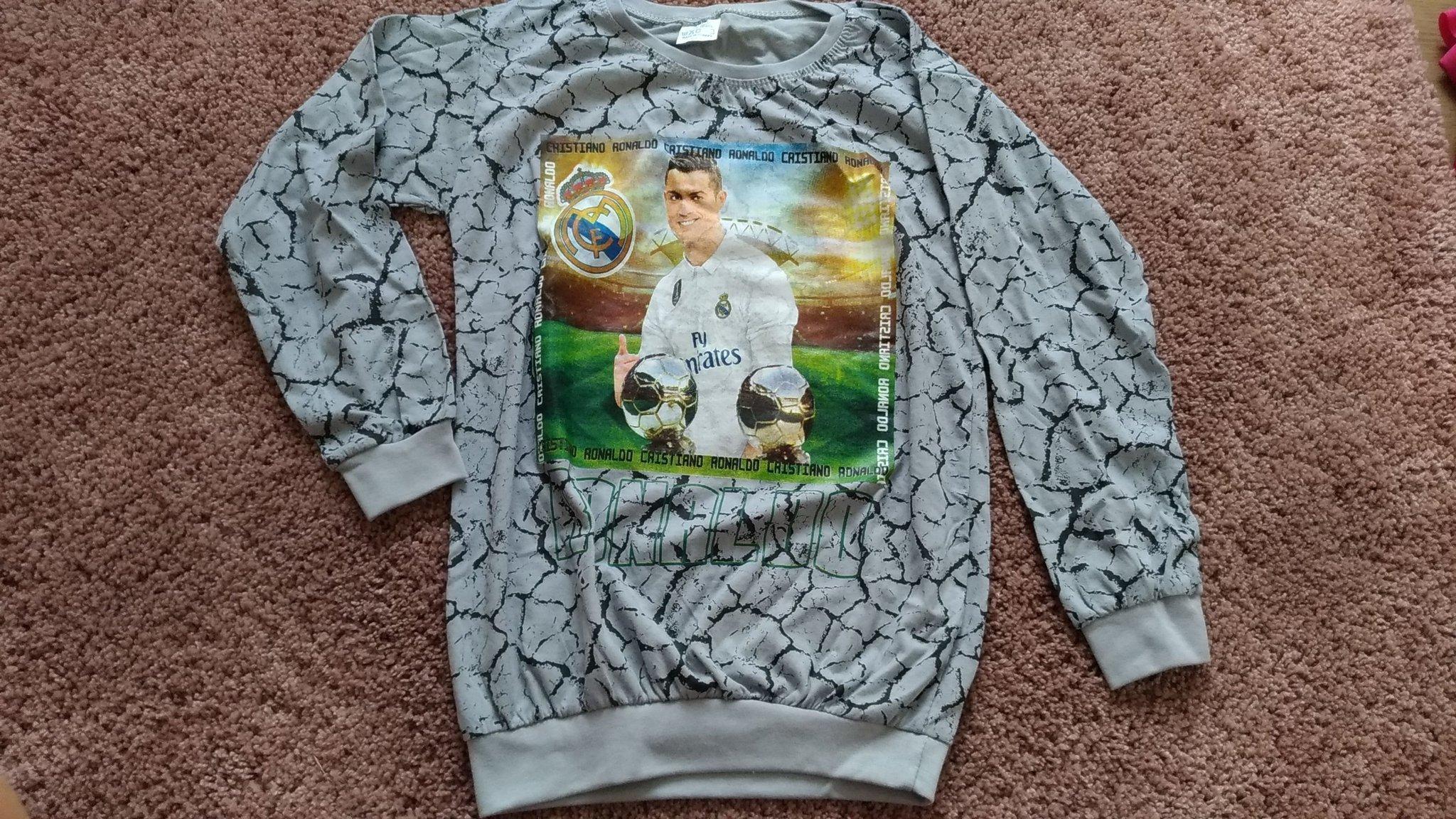 Ronaldo tryckt tröja för pojke i 11 12 år (367599246) ᐈ Köp