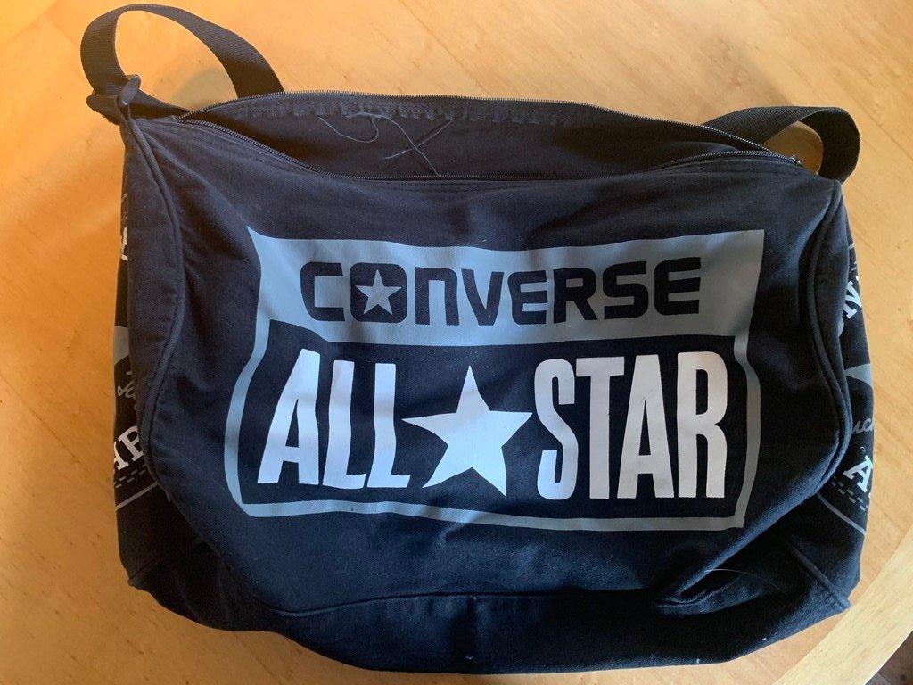 Svart Converse All Star väska träningsväska wee.. (408325898