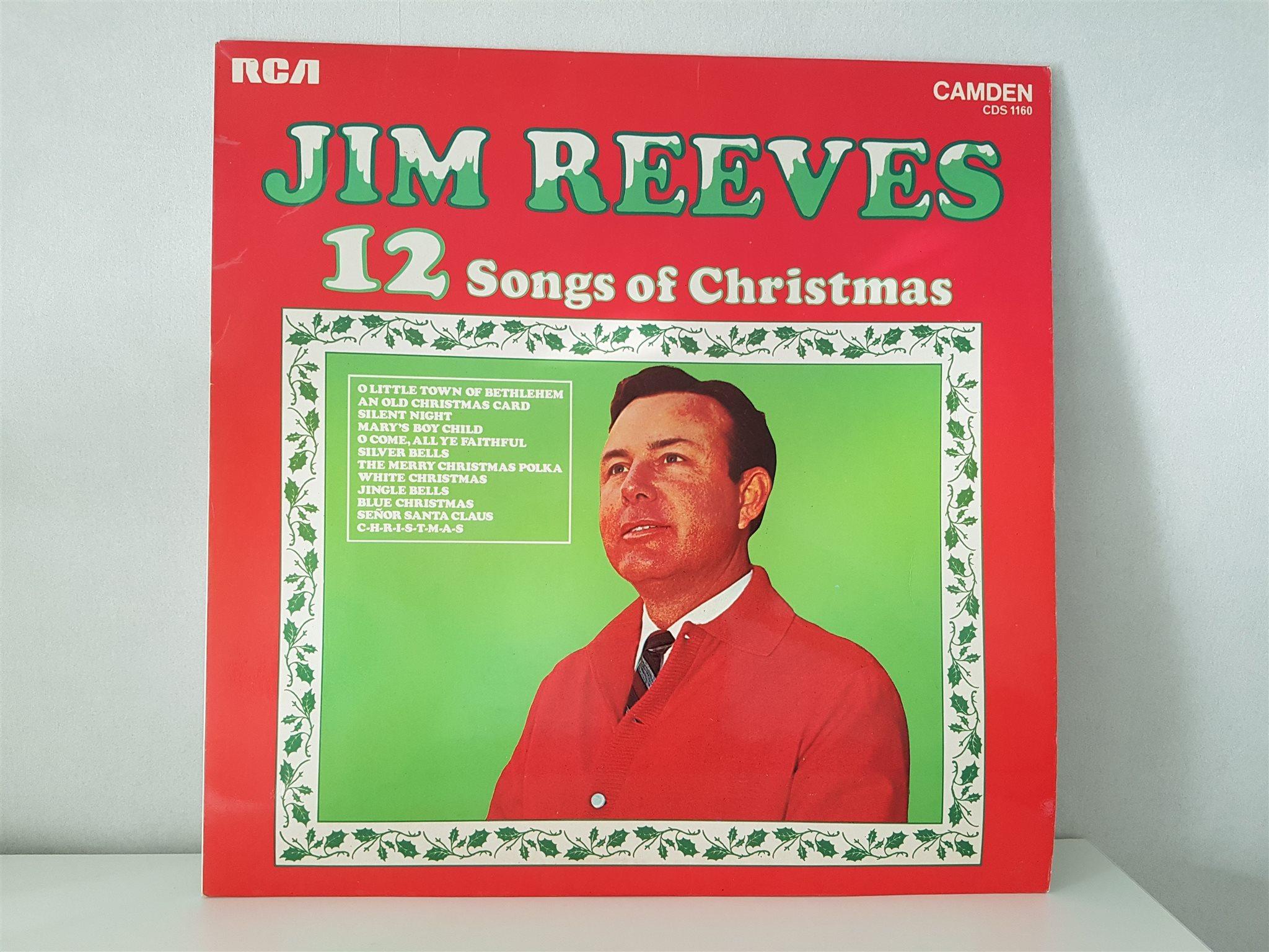 12 Songs of Christmas med Jim Reeves LP Vinyl J.. (326173305) ᐈ Köp ...
