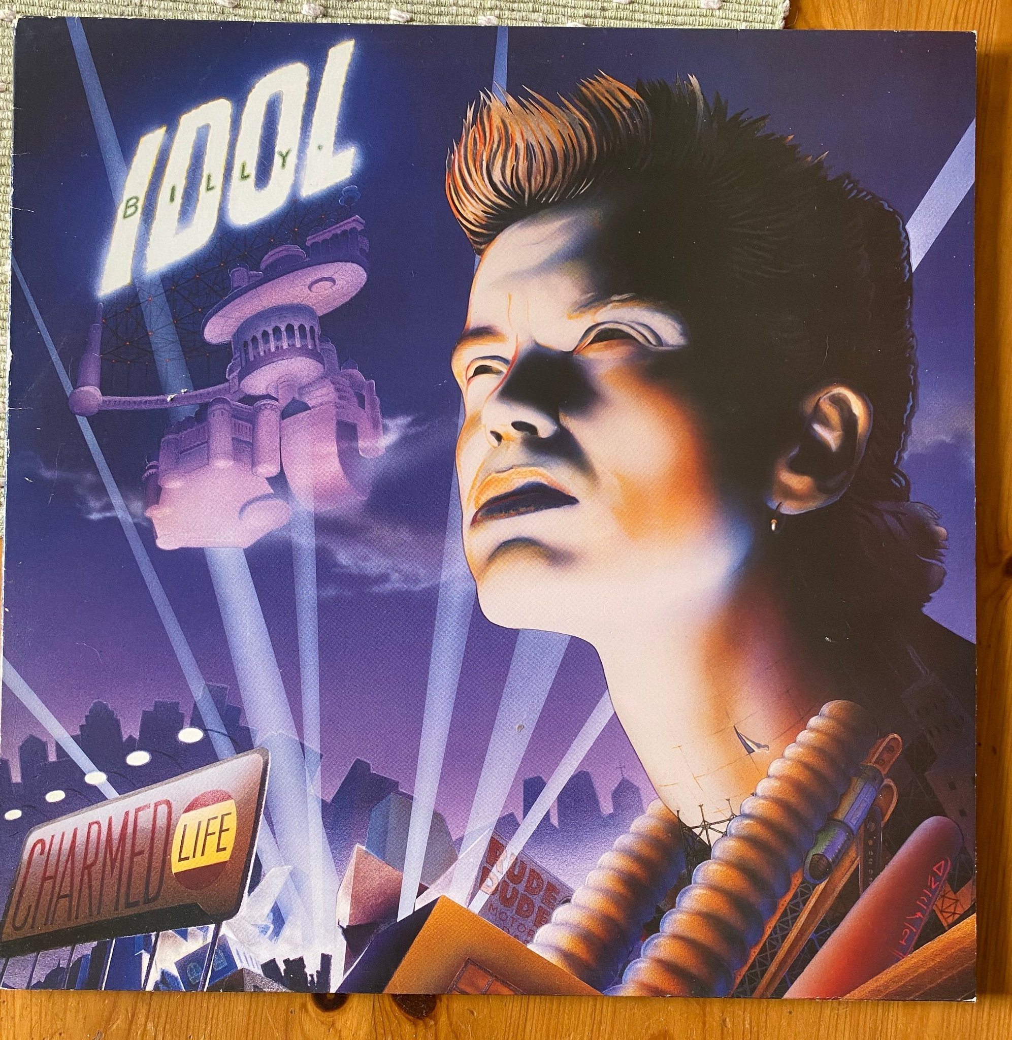 Billy Idol Lp vinyl