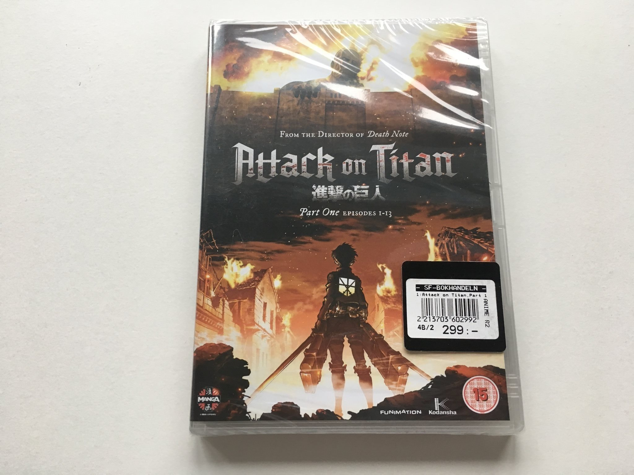 Anime: Attack On Titan, Part One (1) Episodes 1   (339397104