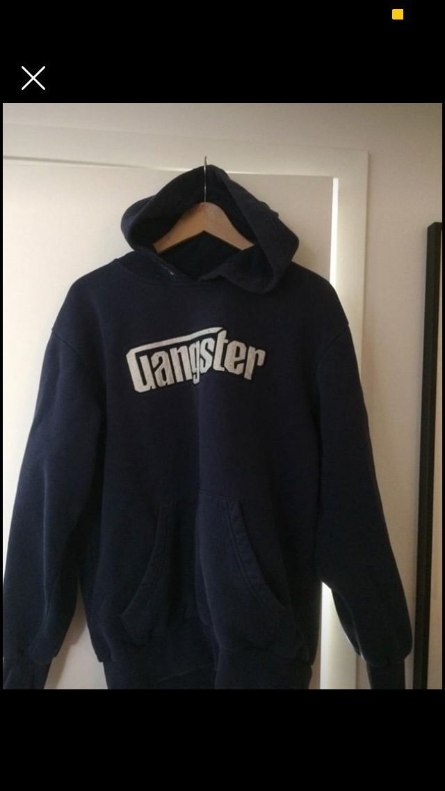 Gangster hoodie str L