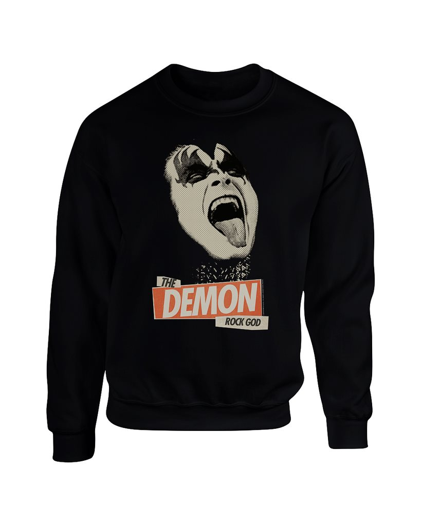 Kiss - Rock God  Sweatshirt - Small