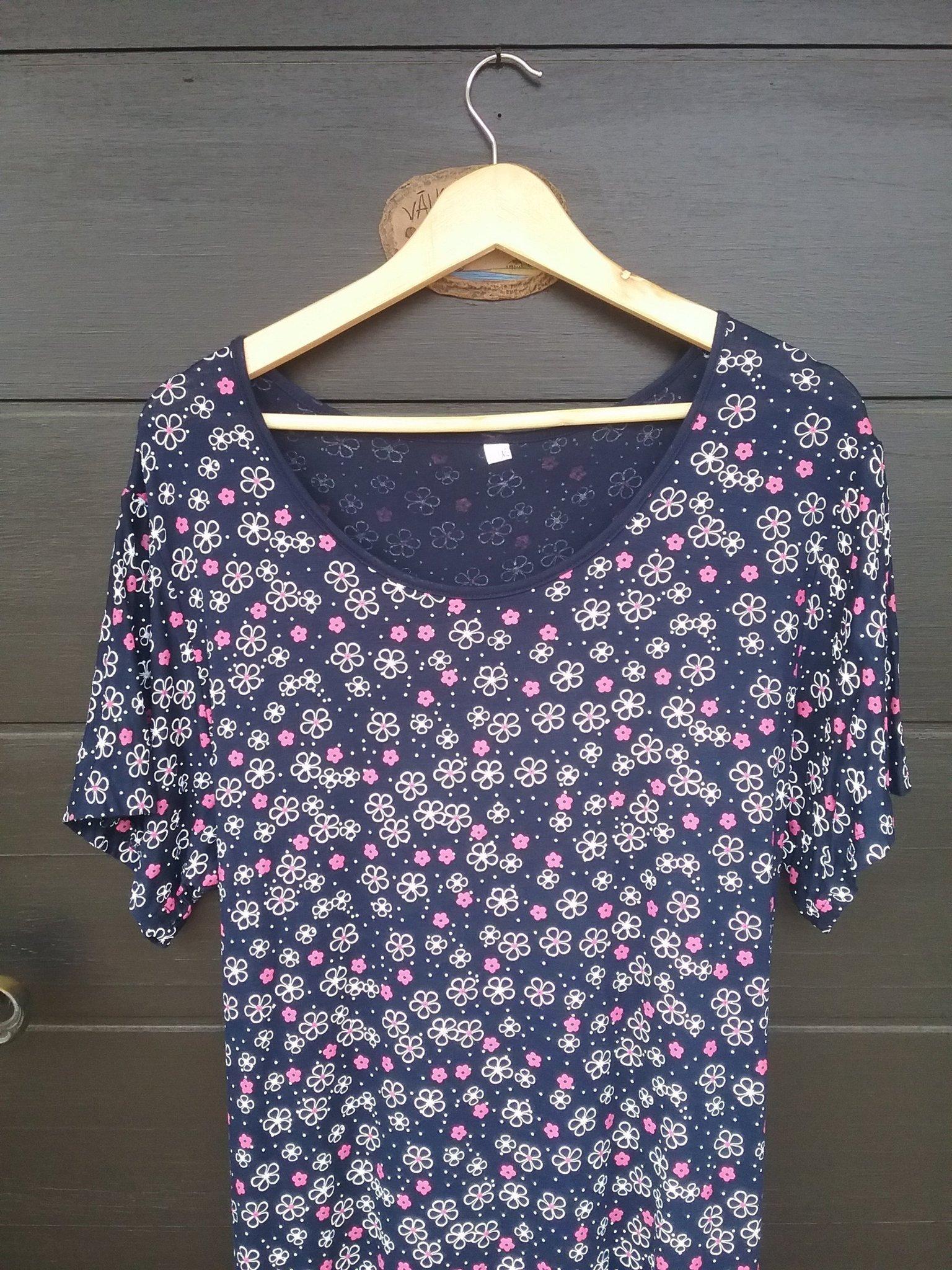 7eb89ba45ffe Ny somrig skön, mycket stretchig blå klänning m.. (354634928) ᐈ Köp på  Tradera
