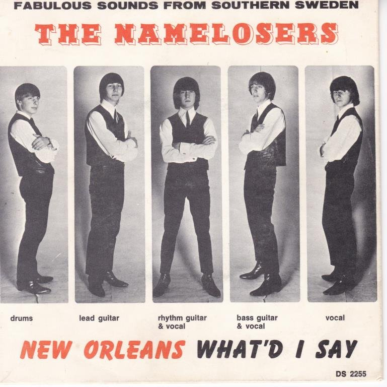 THE NAMELOSERS-new orleans  SE.COLUMBIA DS 2255  GREAT 60´S!