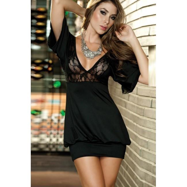 svart sexig klänning