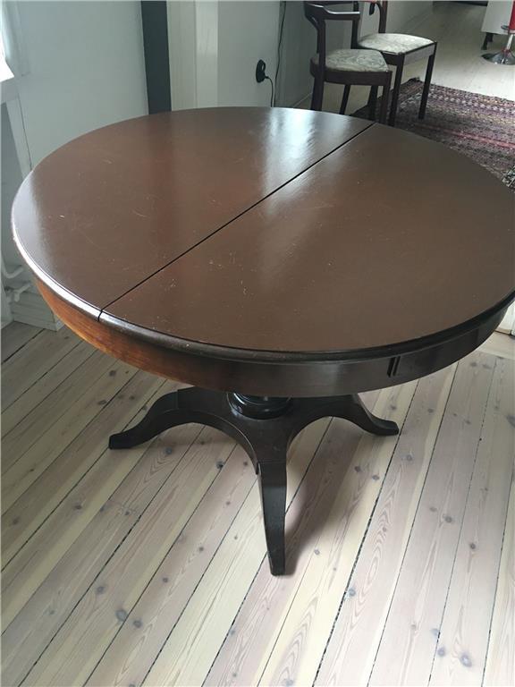 Runt köksbord på Tradera.com - Matsalsmöbler | Möbler | Hem & Hushåll