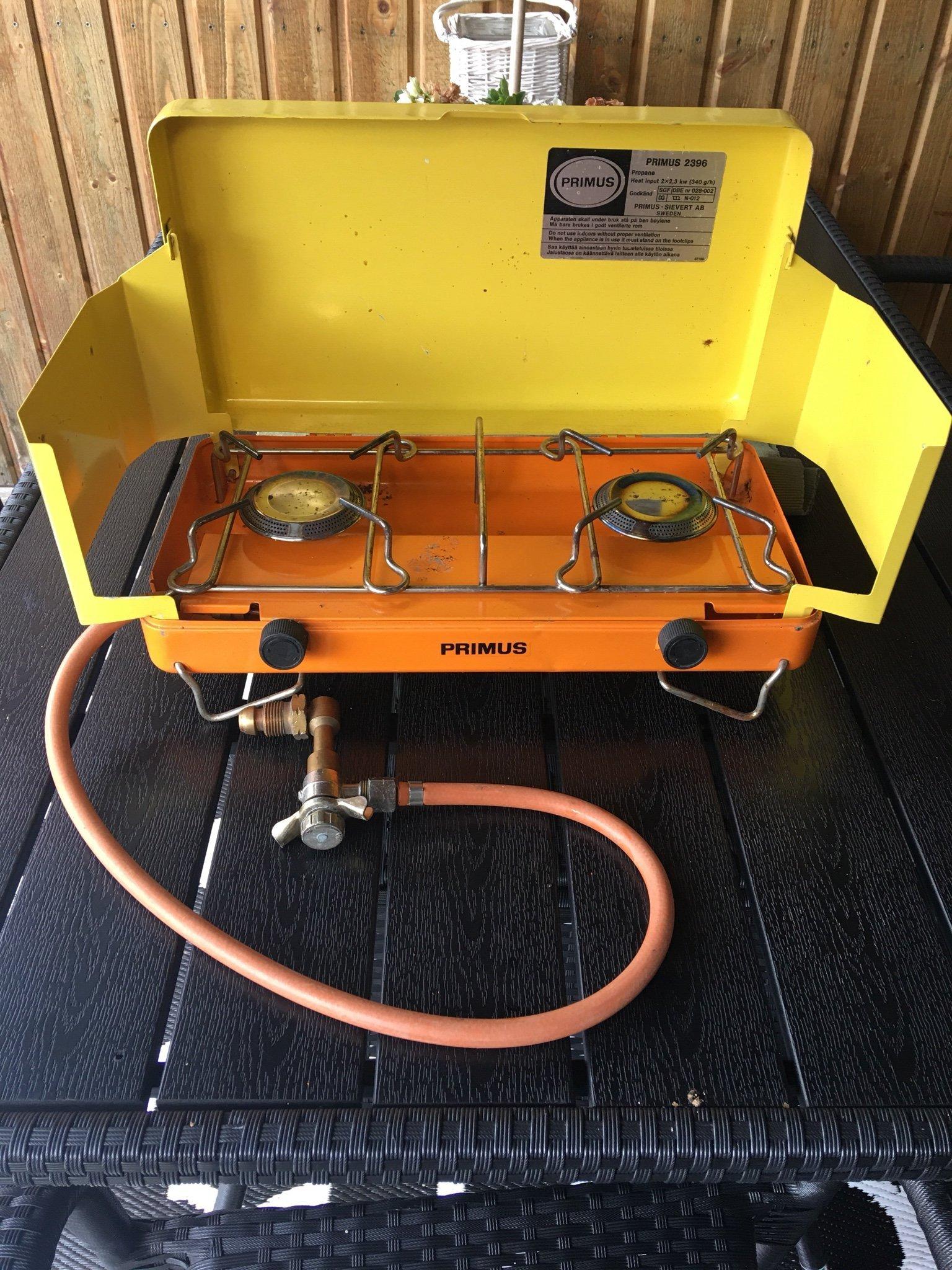 Primus 2396 gasolkök campingkök (359916569) ᐈ Köp på Tradera