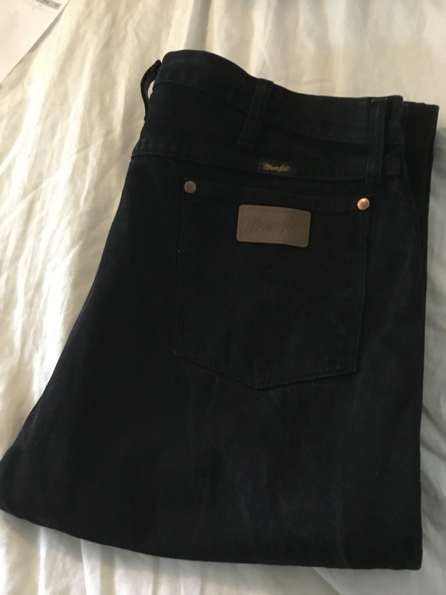 WRANGLER äkta cowboy jeans, storlek: 38x34