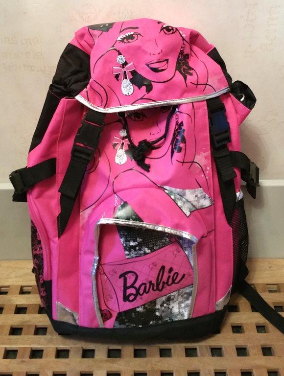 Underbar Rosa   Svart Barbie Ryggsäck Väska Fri.. (250699017) ᐈ Köp ... 37e97ffdf57c9