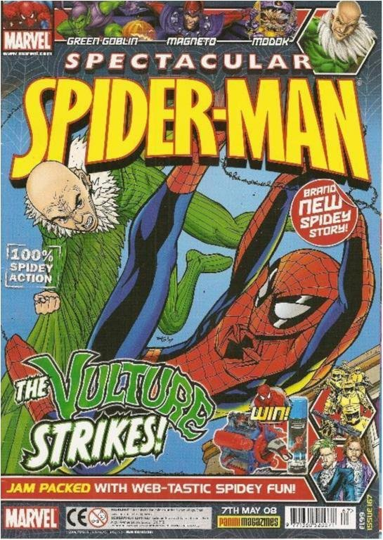 MARVEL SPECTACULAR SPIDER-MAN - NR 167 (ENGLISH)