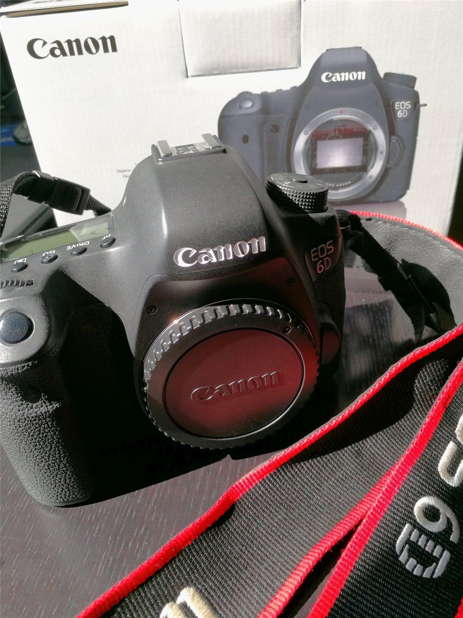 canon 6d säljes