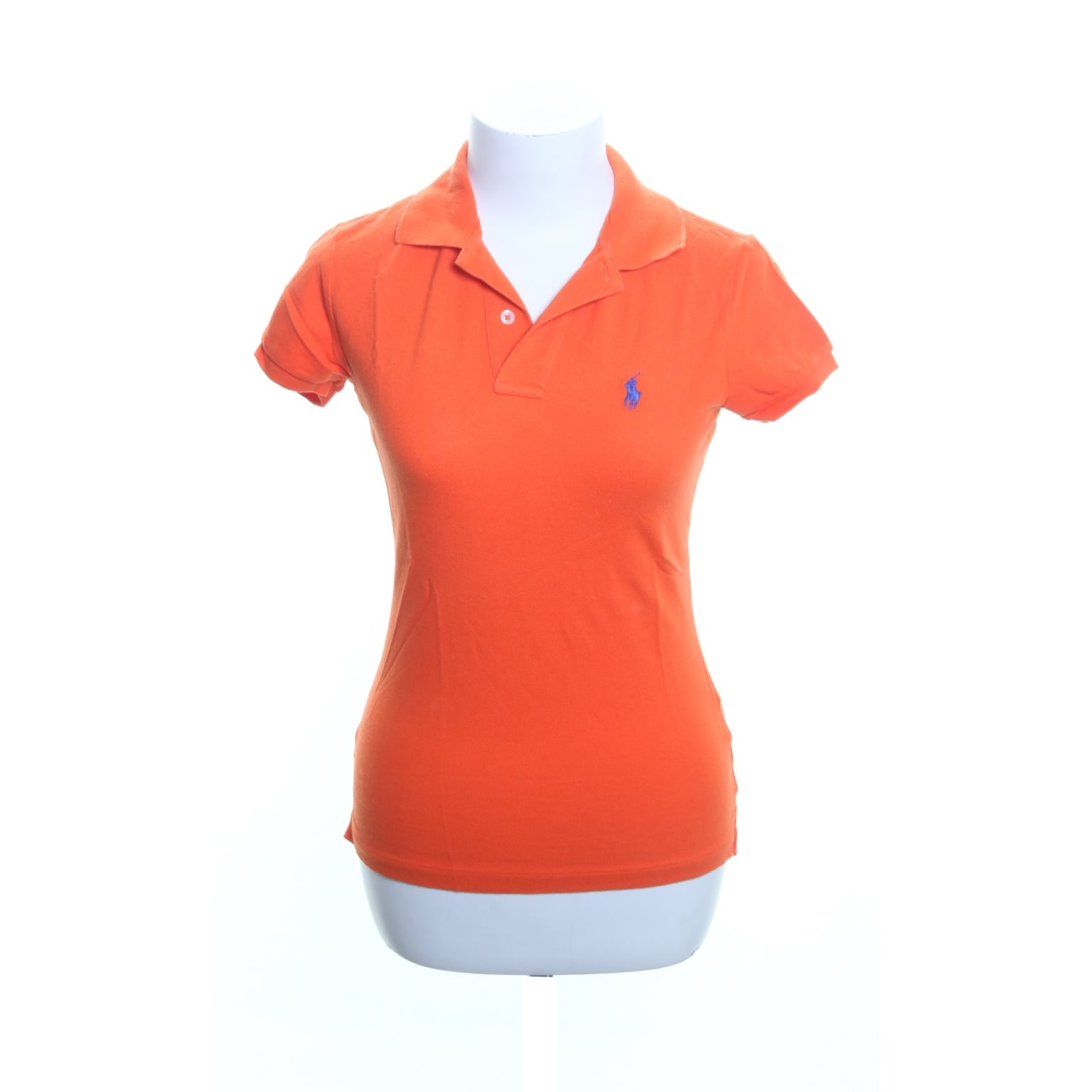 Ralph Lauren, Pikétröja, Strl: S, The skinny polo, Orange