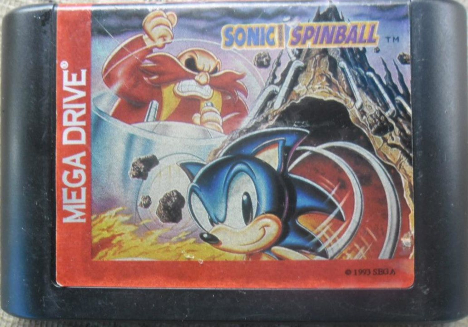 Sonic Spinball - Megadrive