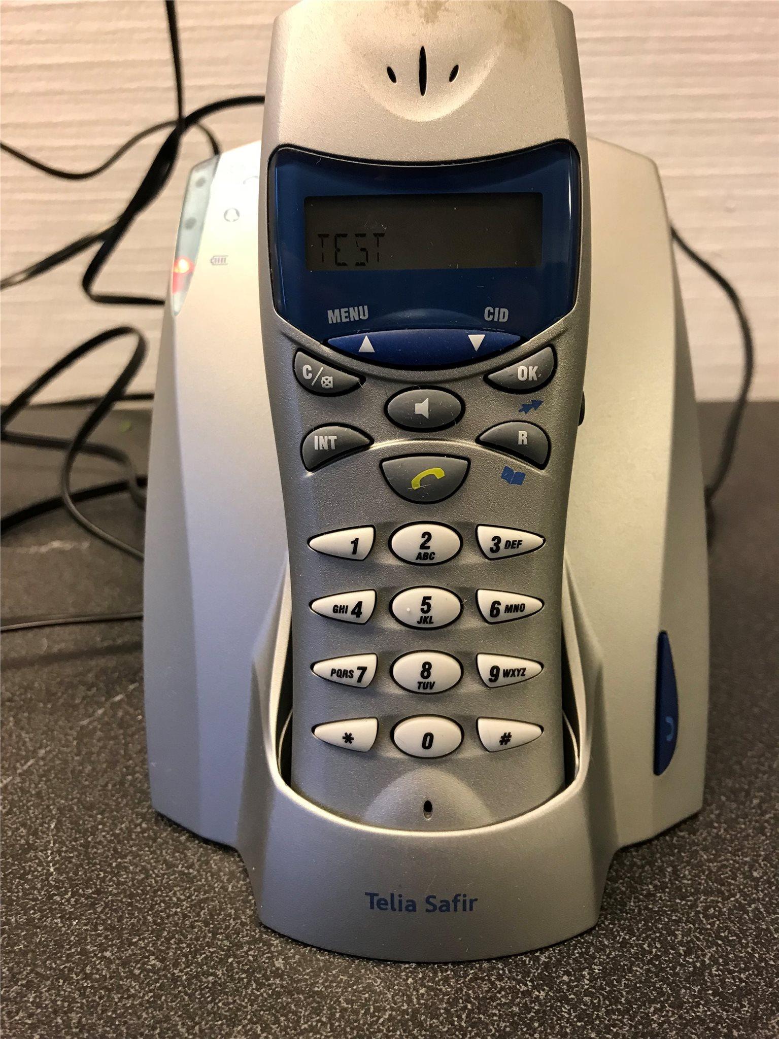 telia trådlösa telefoner