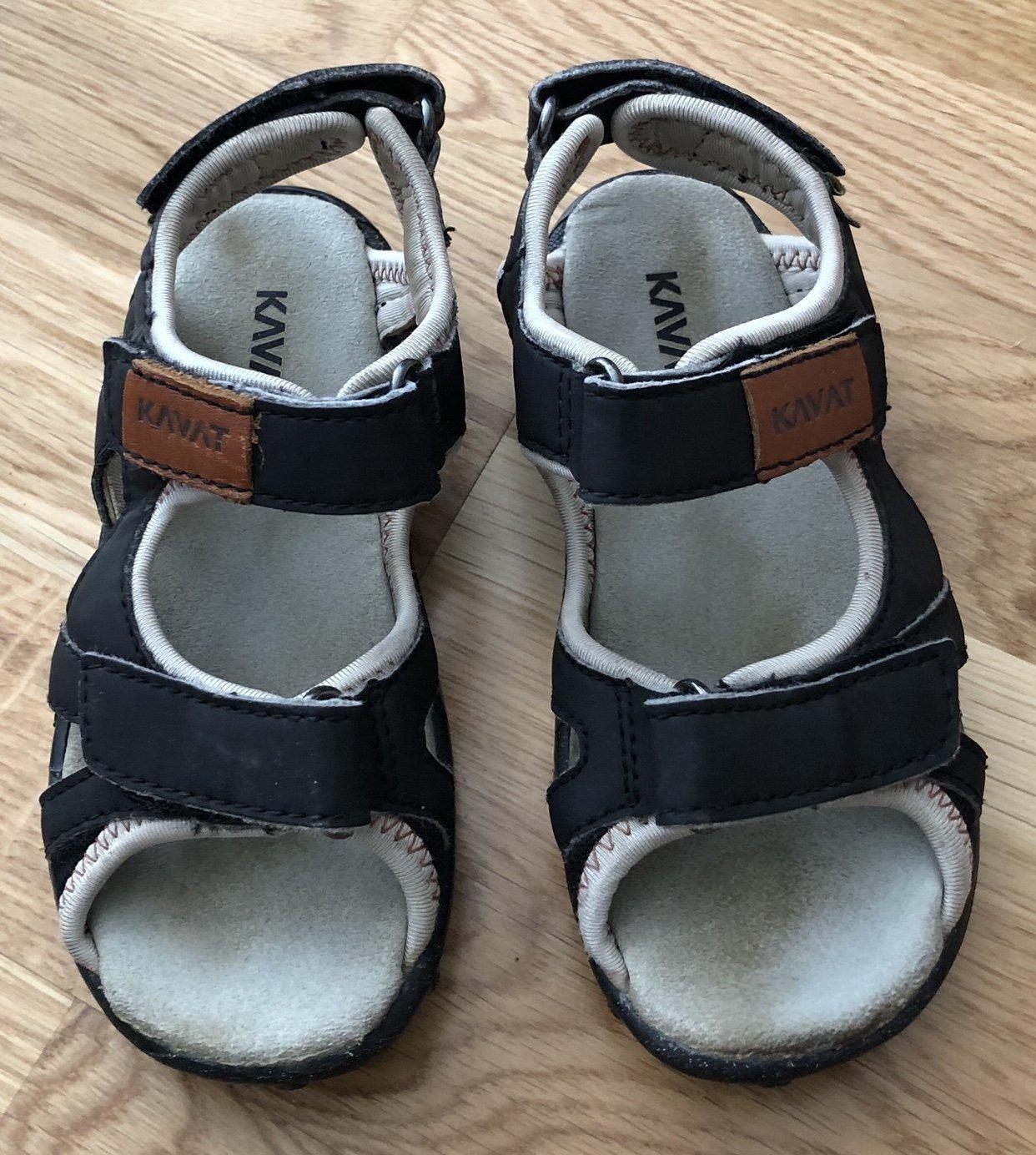 ea43a9b5040 Kavat Rio sandaler i strl 28, svart, barnskor (351559815) ᐈ EMIBOX ...