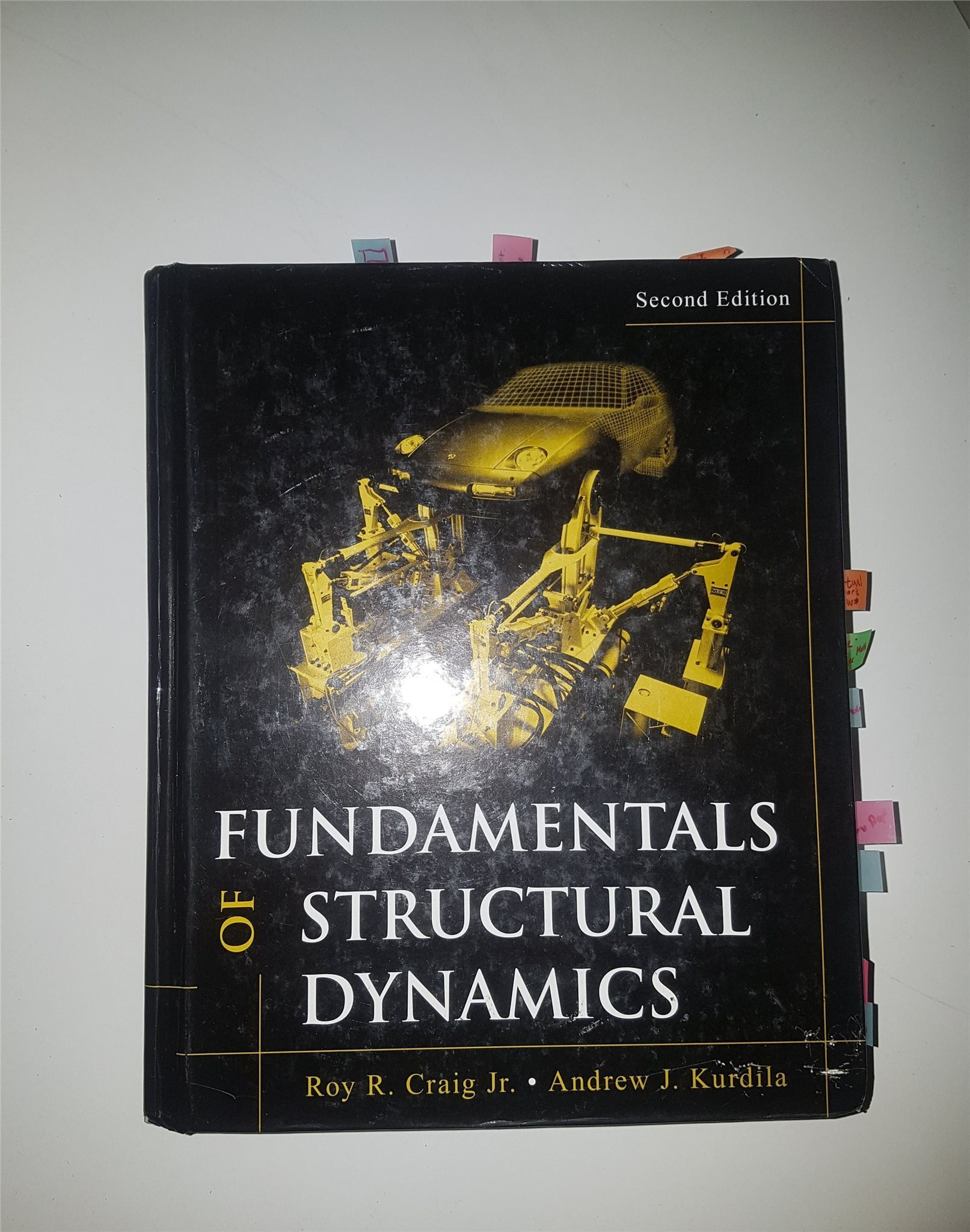 Fundamentals of structural dynamics, utgåva 2
