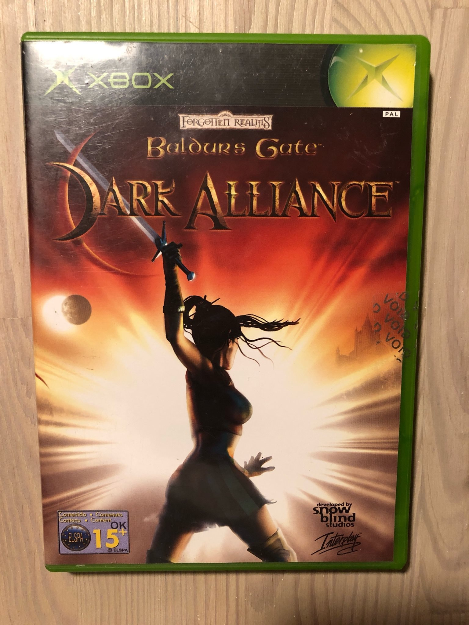 Baldurs gate dark alliance xbox