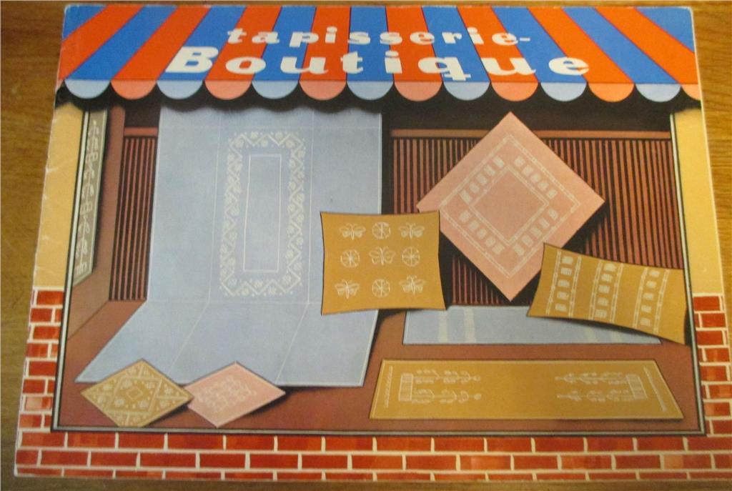 Tapisserie Boutique, Bok om Handarbeten i bottensömmar