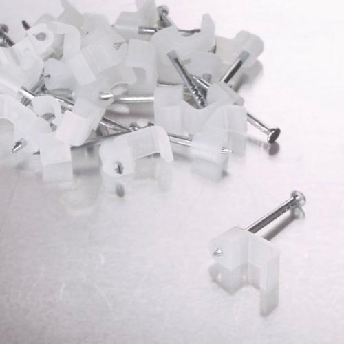 Qnect Kabelclips 25ST, 3-5 mm