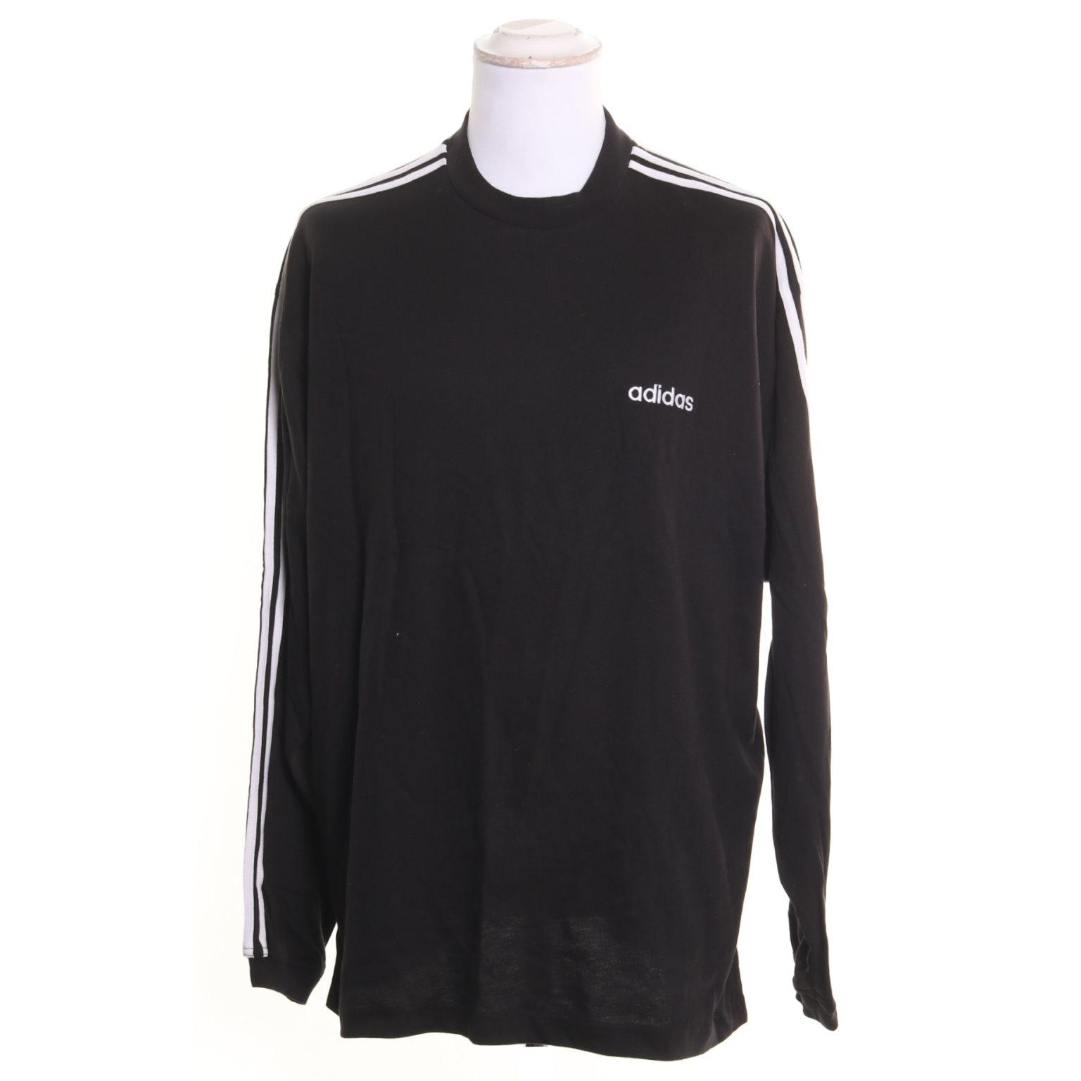 svart vit adidas tröja